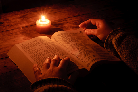 studying Torah gives us the light of God