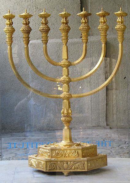 Menorah : the light of God