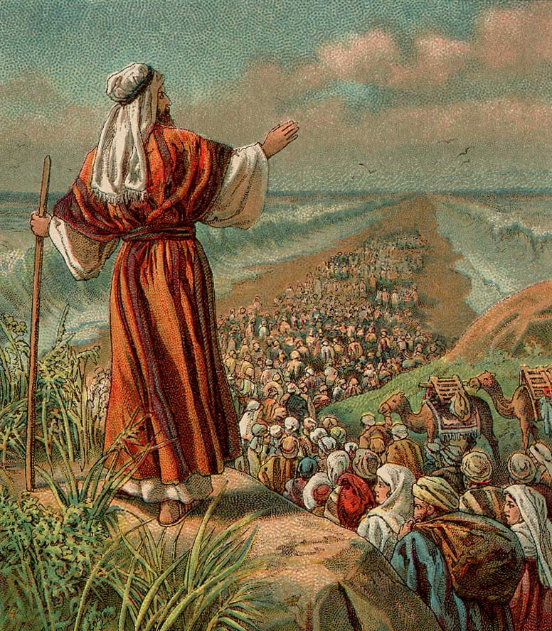 God showed Abraham Isaac and Jacob the multitudes of the Children of Israel coming out of Egypt