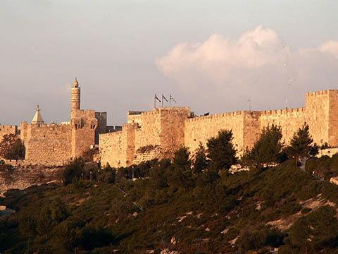 Jerusalem city walls. Building our inner Jerusalem: Kabbalah of Rabbi Ashlag